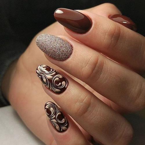 انواع طرح های جدید از طراحی ناخن جدید بسیار زیبا و جذاب