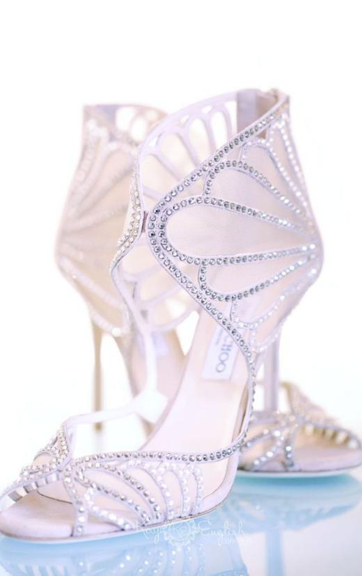 عکس کفش عروس شیک و زیبا