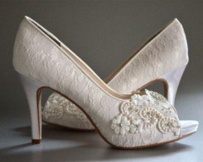 مدل کفش عروس جدید و بسیار زیبا + کفش عروسی شیک