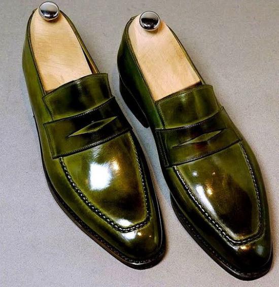 عکس کفش مجلسی مردانه جدید با شیکترین طرح های مد سال 1397