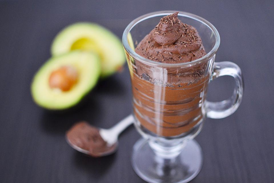 آموزش موس شکلات تیره و قهوه اسپرسو با آووکادو