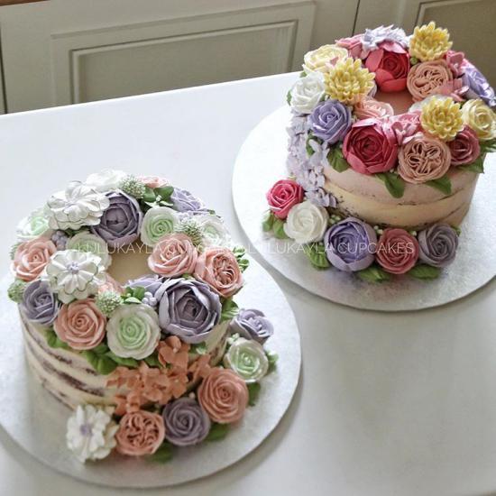 عکس کیک تولد دخترانه زیبا و فوق العاده عالی