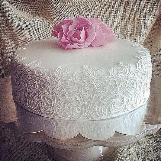 عکس کیک تولد با شمع با بهترین روش پخت