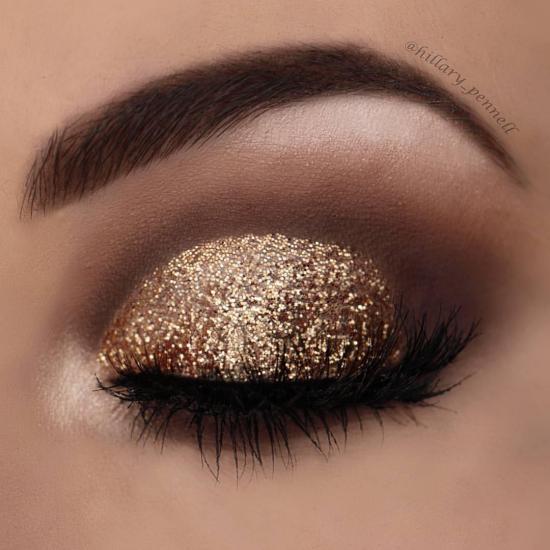 مدل آرایش چشم عروس جدید با طرح های مد روز