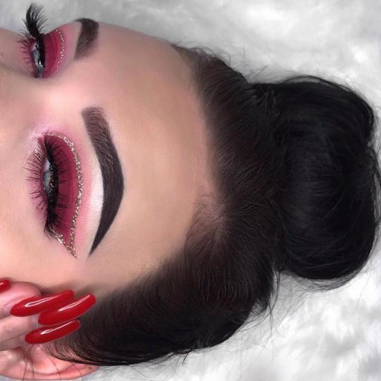 مدل آرایش چشم جدید دخترانه اروپایی زیبا و شیک