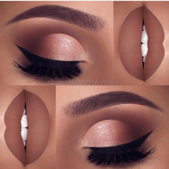 میکاپ چشم و ابرو 2018 | مدل آرایش چشم و ابرو مشکی