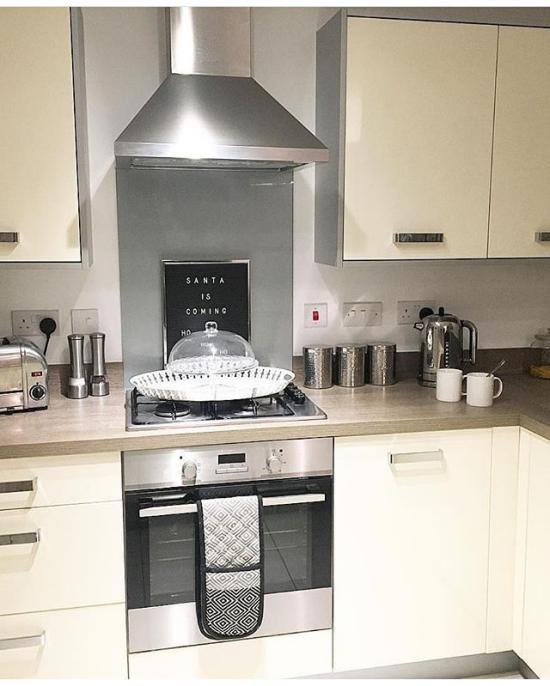 مدل چیدمان آشپزخانه نو عروس لاکچری بسیار شیک و جدید