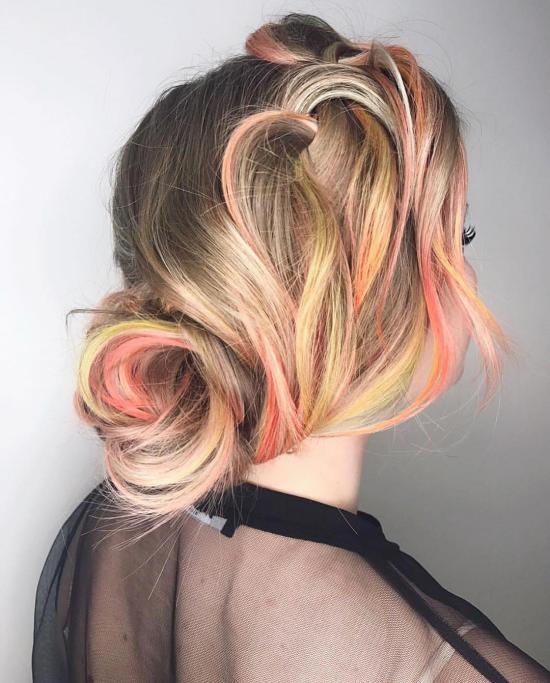 مدل رنگ مو روشن جدید با جدیدترین متدهای آرایشی روز دنیا