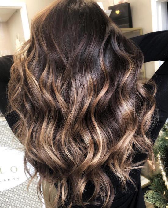 مدل رنگ مو جدید دخترانه برای انواع آرایش مو باز و بسته