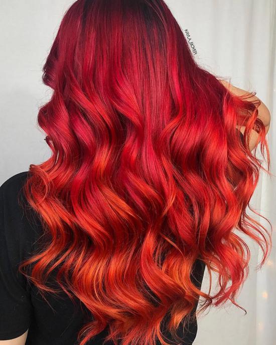 انواع مدل رنگ مو بالیاژ زیبا و حرفه ای با متدهای جدید سال