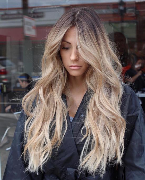 مدل رنگ مو روشن هایلایت ساده و جذاب برای سلیقه های متفاوت