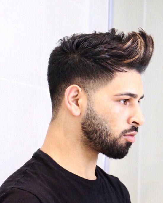 مدل مو پسرانه جدید بلند و کوتاه به همراه تصاویر