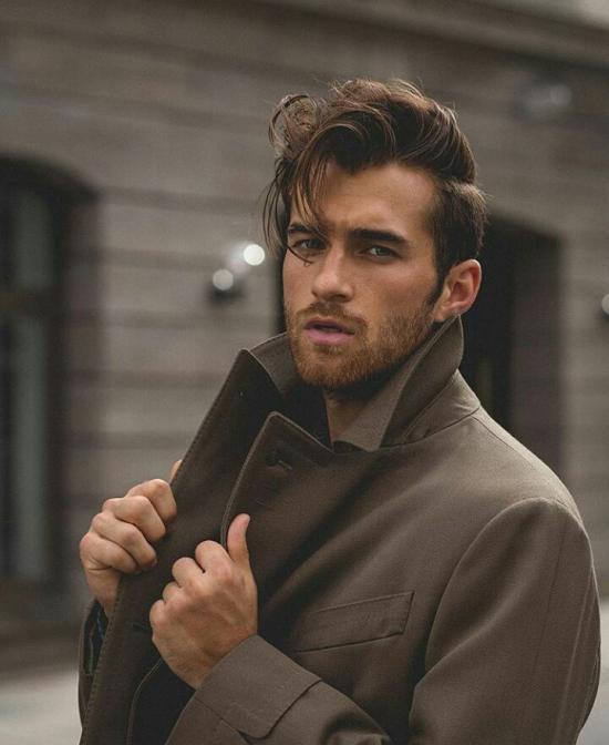 مدل موهای مردانه فر + مدل مو مردانه جدید 2018
