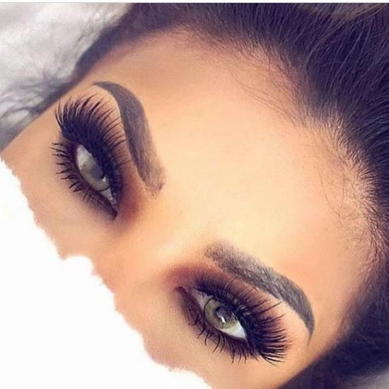 دانلود عکس ارایش چشم عربی با طرح های جدید و زیبا