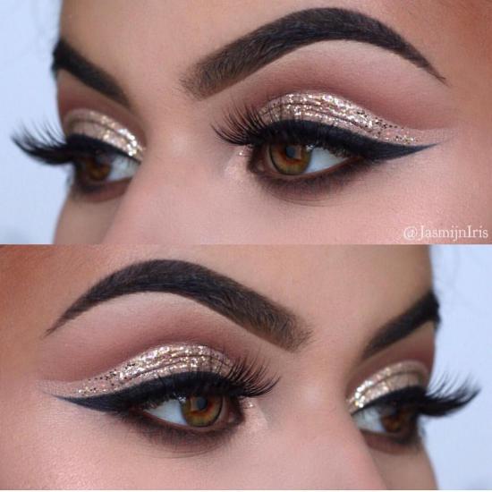 عکس آرایش چشم با انواع متدهای حرفه ای و جذاب