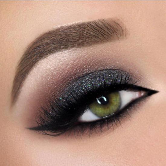 جدیدترین مدل ارایش چشم عربی به همراه عکس