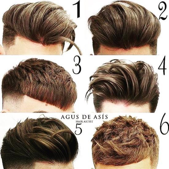 تصاویر مدل موی مردانه جدید شیک و زیبا برای خوش پوش ها