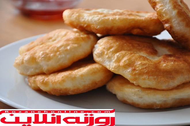 طرز تهیه پیشی بسیار آسان , نان خوشمزه و متفاوت