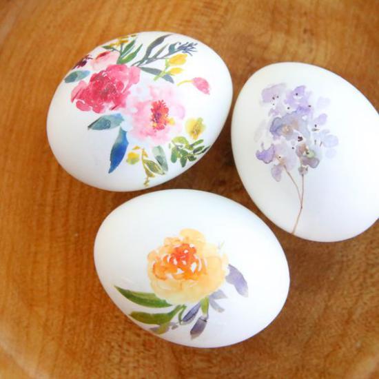 تزیین تخمه مرغ عید بسیار جذاب و زیبا + تصویر