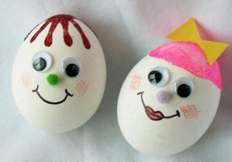 آموزش تزیین تخمه مرغ هفت سین 97 با طرح های جذاب