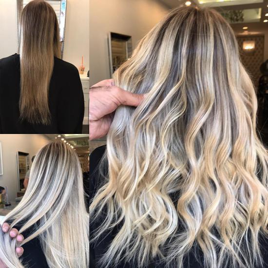رنگ موی جدید تیره با طرح های حرفه ای و بسیار شیک