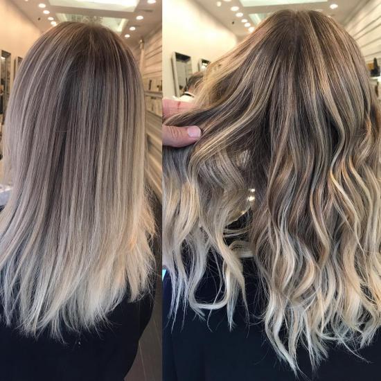 رنگ موی جدید خوشگل با جدیدترین متدهای حرفه ای
