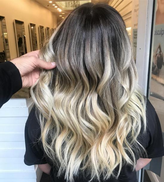 رنگ موی جدید خاص مناسب برای مراسم عروسی مهم
