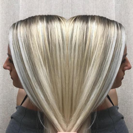 رنگ موی جدید مد روز باکلاس + تصویر