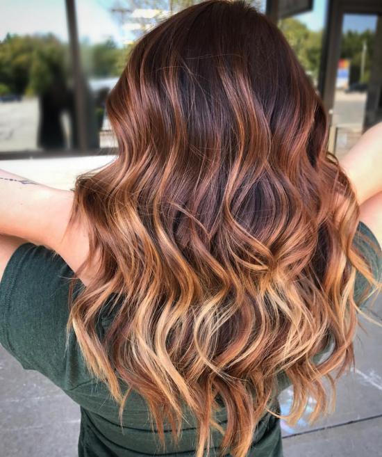 رنگ موی جدید ۹۷ با هایلایت های به روز + تصویر