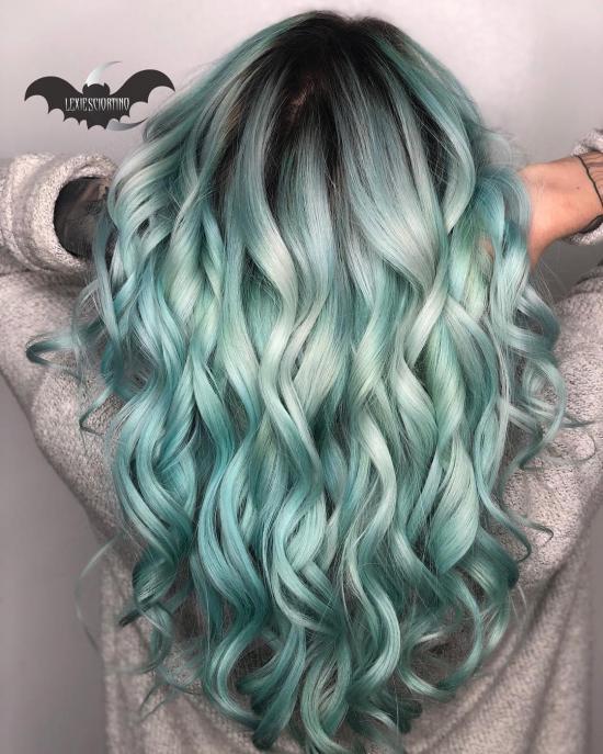 رنگ موی جدید بدون دکلره با جدیدترین طرح های روز