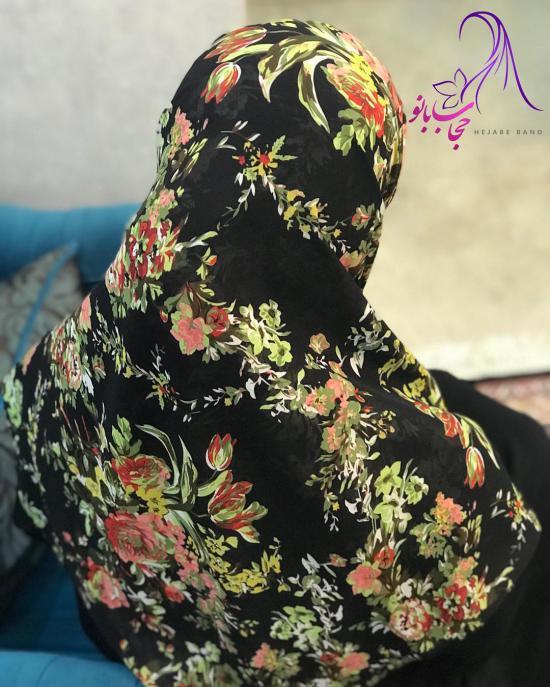 مدل روسری جدید ساتن و حریر برای انواع رنگ پوست و استایل صورت