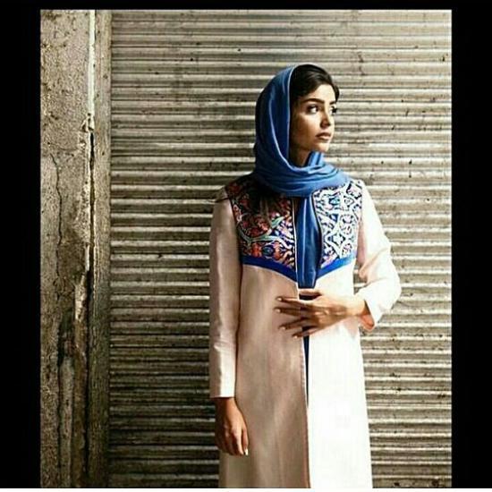 گالری از به روزترین مدل مانتو عید 97 با کار دست مروارید