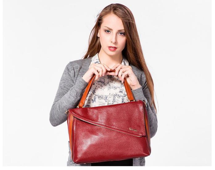 مدل کیف زنانه چرم دست دوز بسیار جذاب و زیبا برای افراد خاص