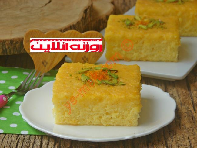 چگونه کیک خیس پرتقالی درست کنیم