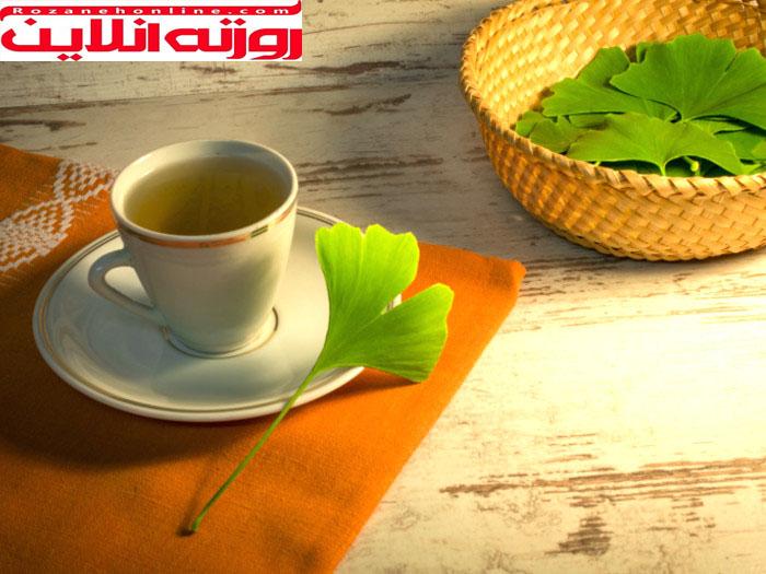 پنج فایده چای جینکو بیلوبا