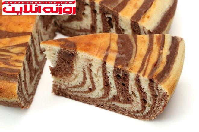 طرز تهیه کیک زبرا با روش ترکیه