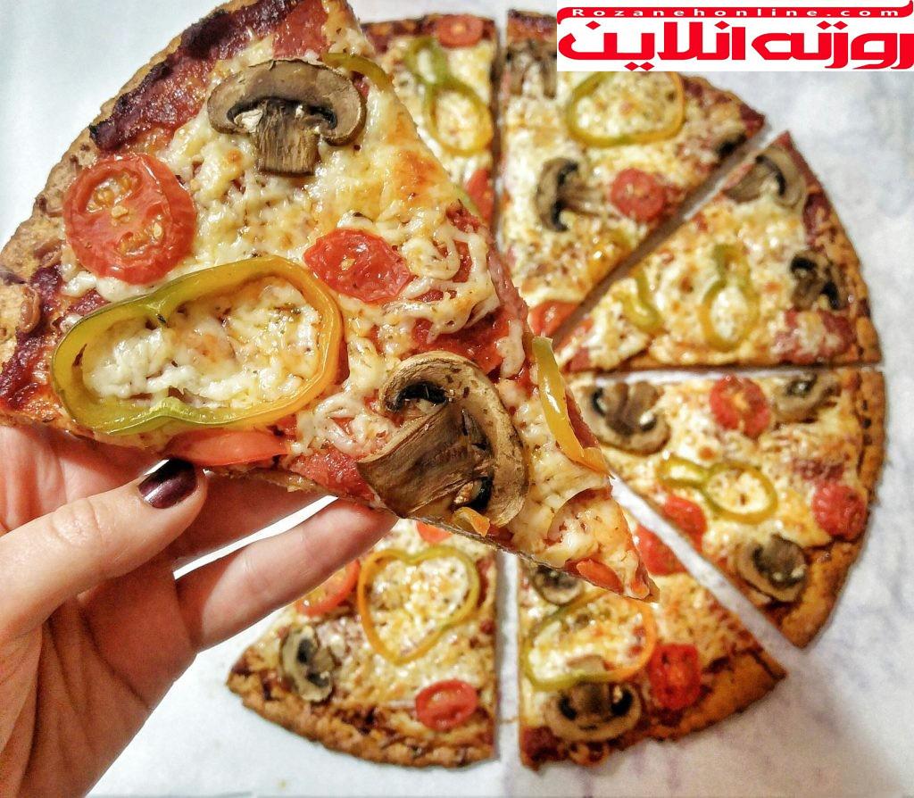 بهترین روش های درست کردن پیتزای رژیمی همراه با کالری