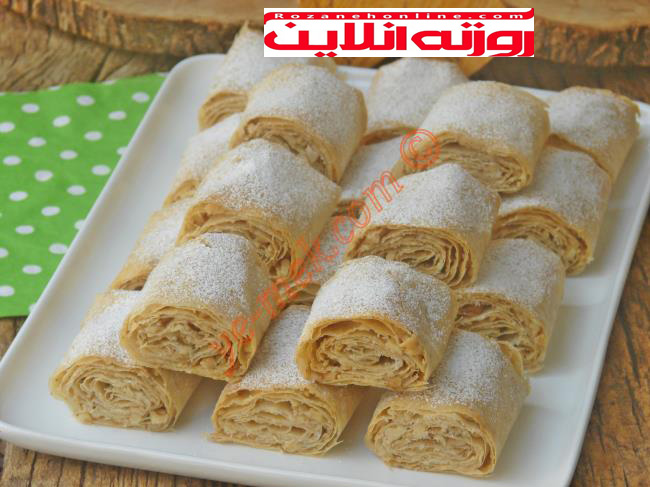 طرز تهیه باقلوای خشک ترکیه