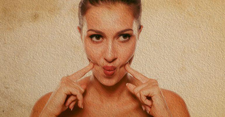 از بین بردن چربی صورت با درمان های طبیعی و خانگی