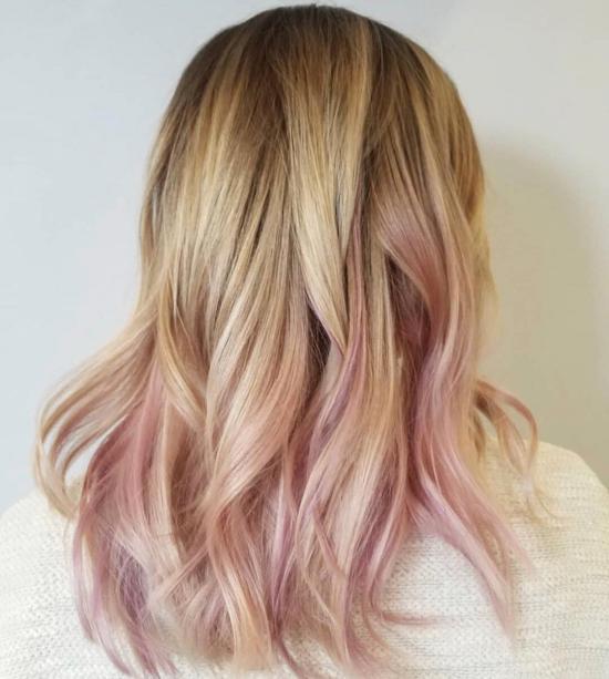 رنگ مو جدید 2018 برای خانم های مشکل پسند
