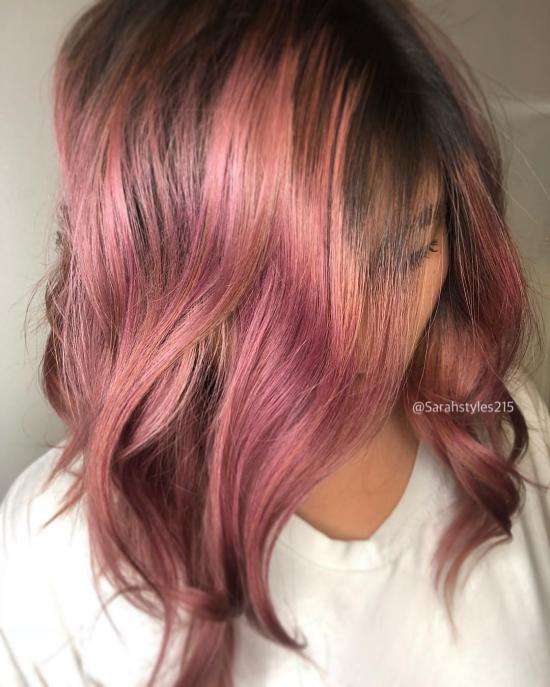 مدل رنگ مو زنانه 2019 برای انواع صورت ها و سلیقه های مختلف