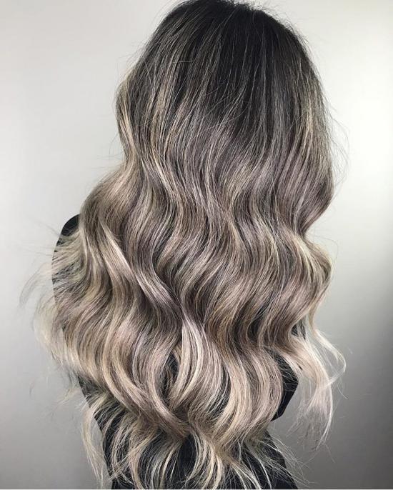 مدل مو رنگ و مش سوزنی