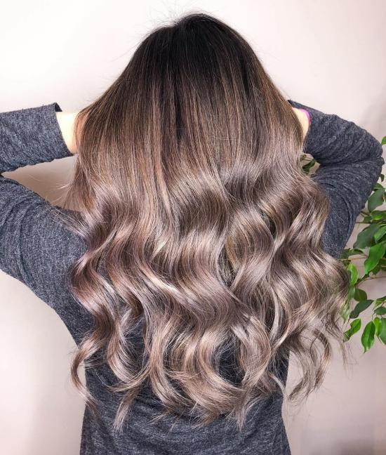 مدل رنگ مو دخترانه 2019 فوق العاده شیک و لاکچری