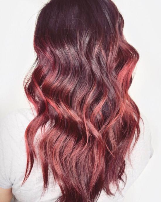 مدل رنگ مو بدون دکلره 2019 برای عروس خانم های متفاوت