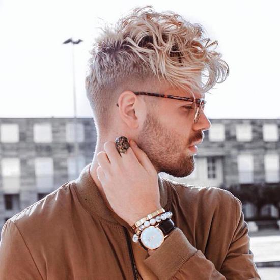 مدل مو مردانه با ریش ۲۰۱۸ فوق العاده شیک
