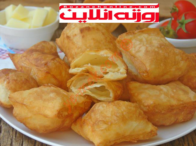 طرز تهیه نان پیشی با استفاده از خمیر یوفکا