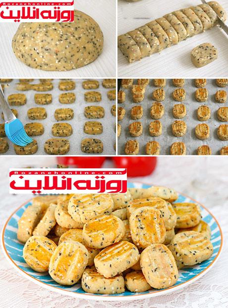 شیرینی ادویه دار مخصوص ماه رمضان