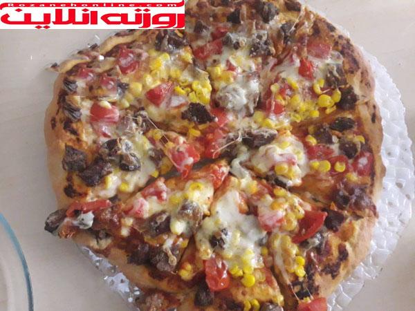 چگونه پیتزای پروتئین درست کنیم
