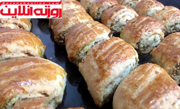 دستور پخت شیرینی گردویی اصل ترکیه