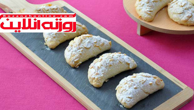 طرز تهیه نان سیب و بادام